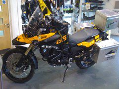 F800 GS at Touratech