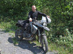 My F800 GS - For the course anyway