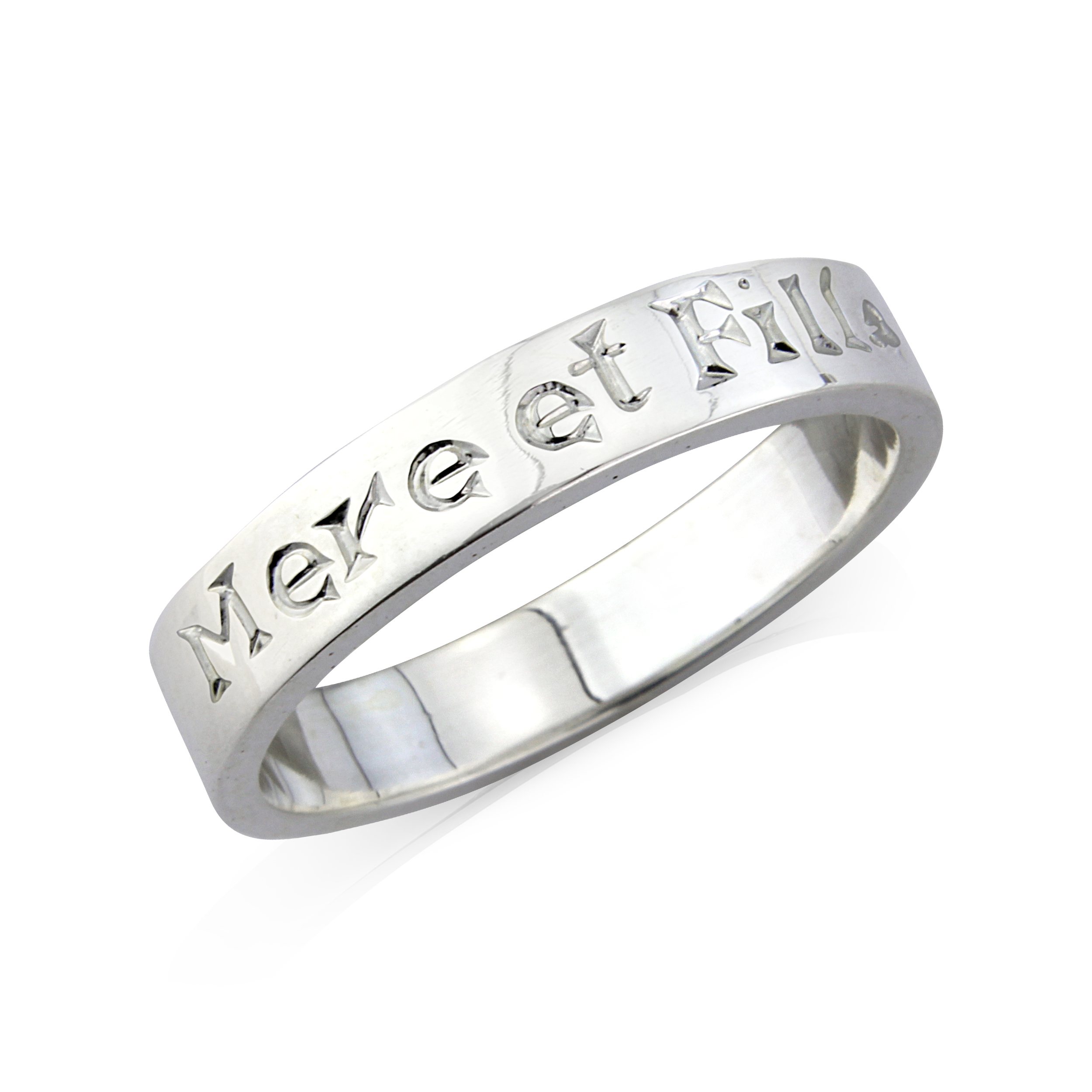 Sterling Silver Ring  (Mother & Daughter)