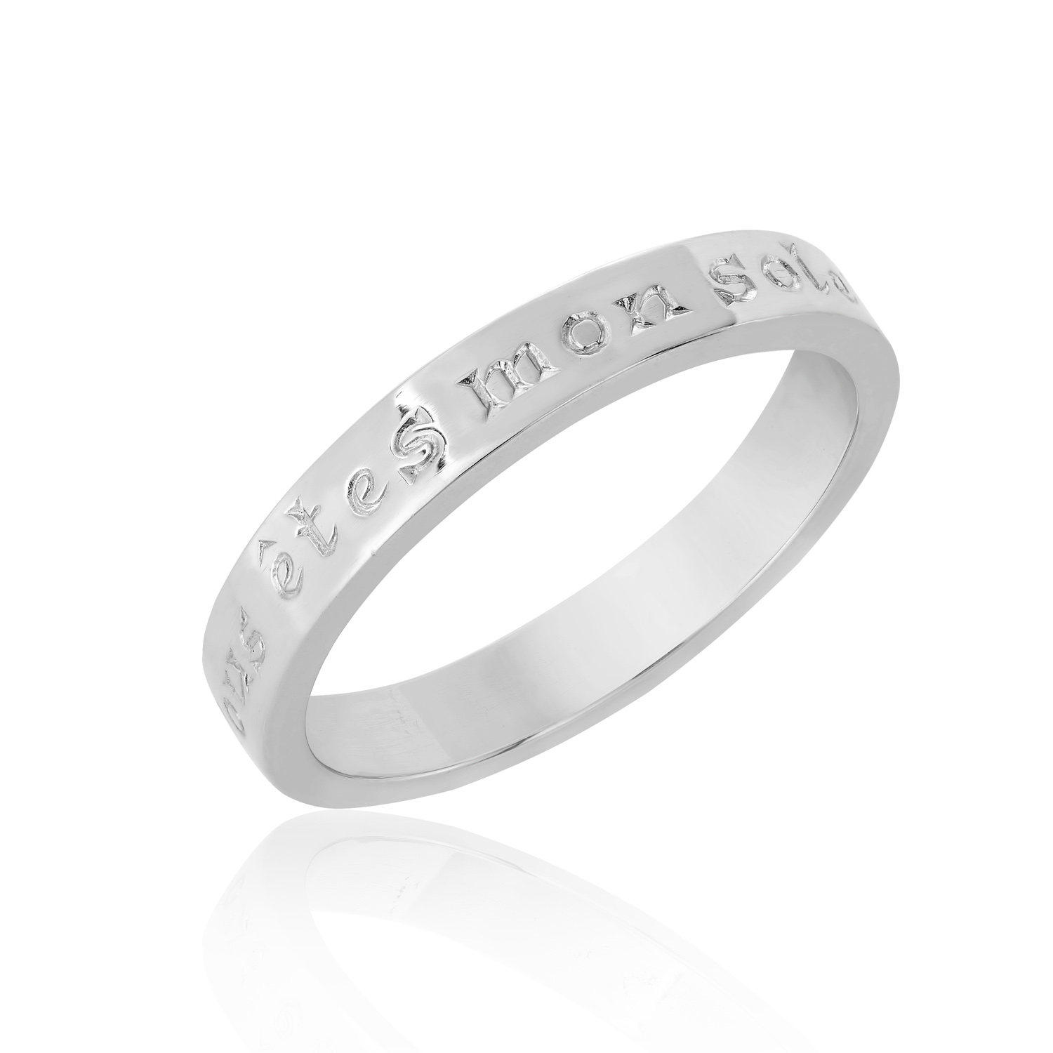 Sterling Silver Ring  (You are my sunshine)