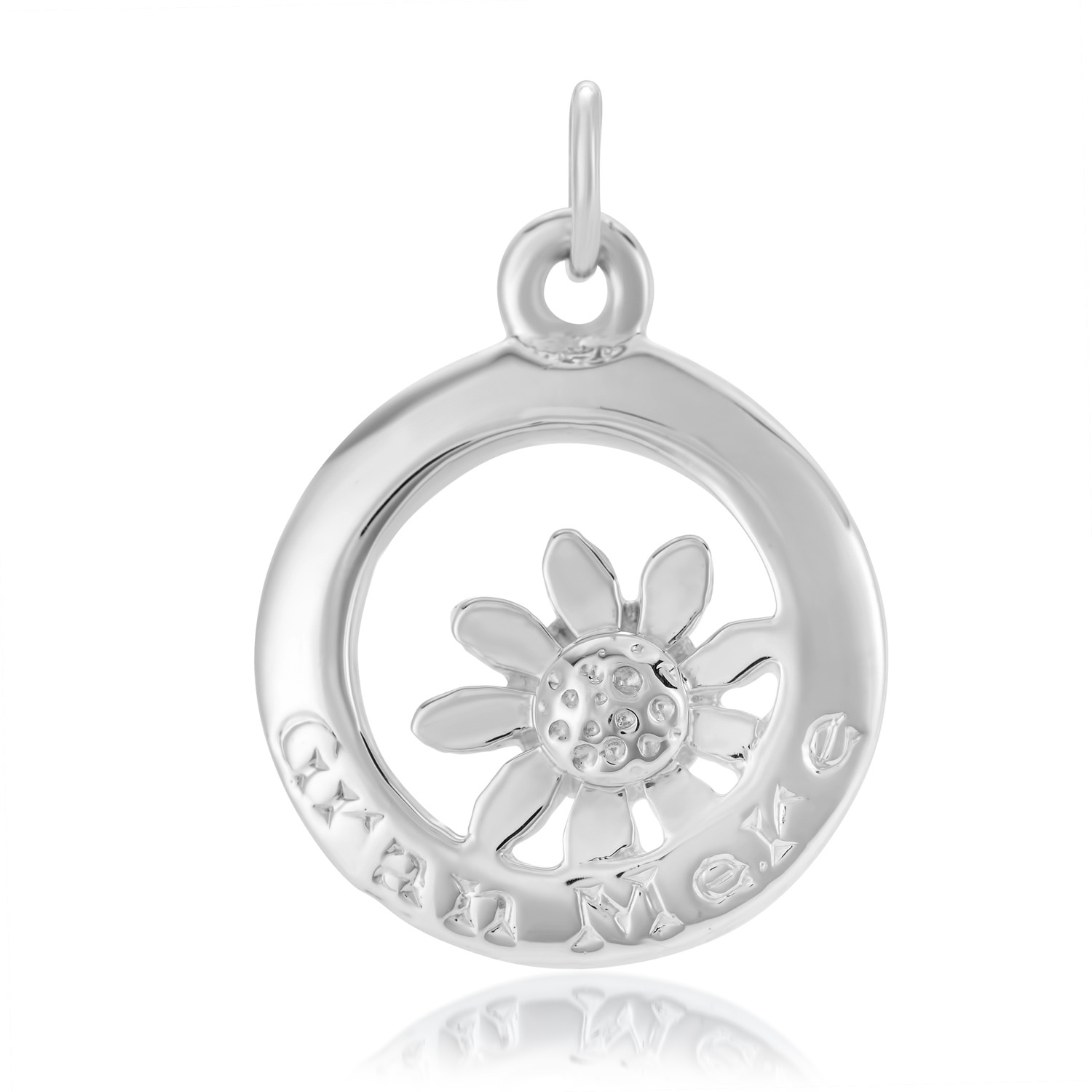 Sterling Silver Charm / Pendant  (Grandmother)