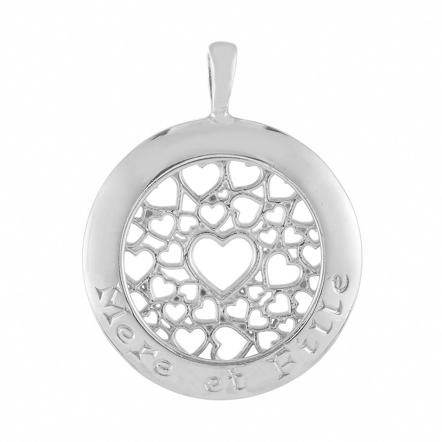Sterling Silver Pendant  (Mother & Daughter)