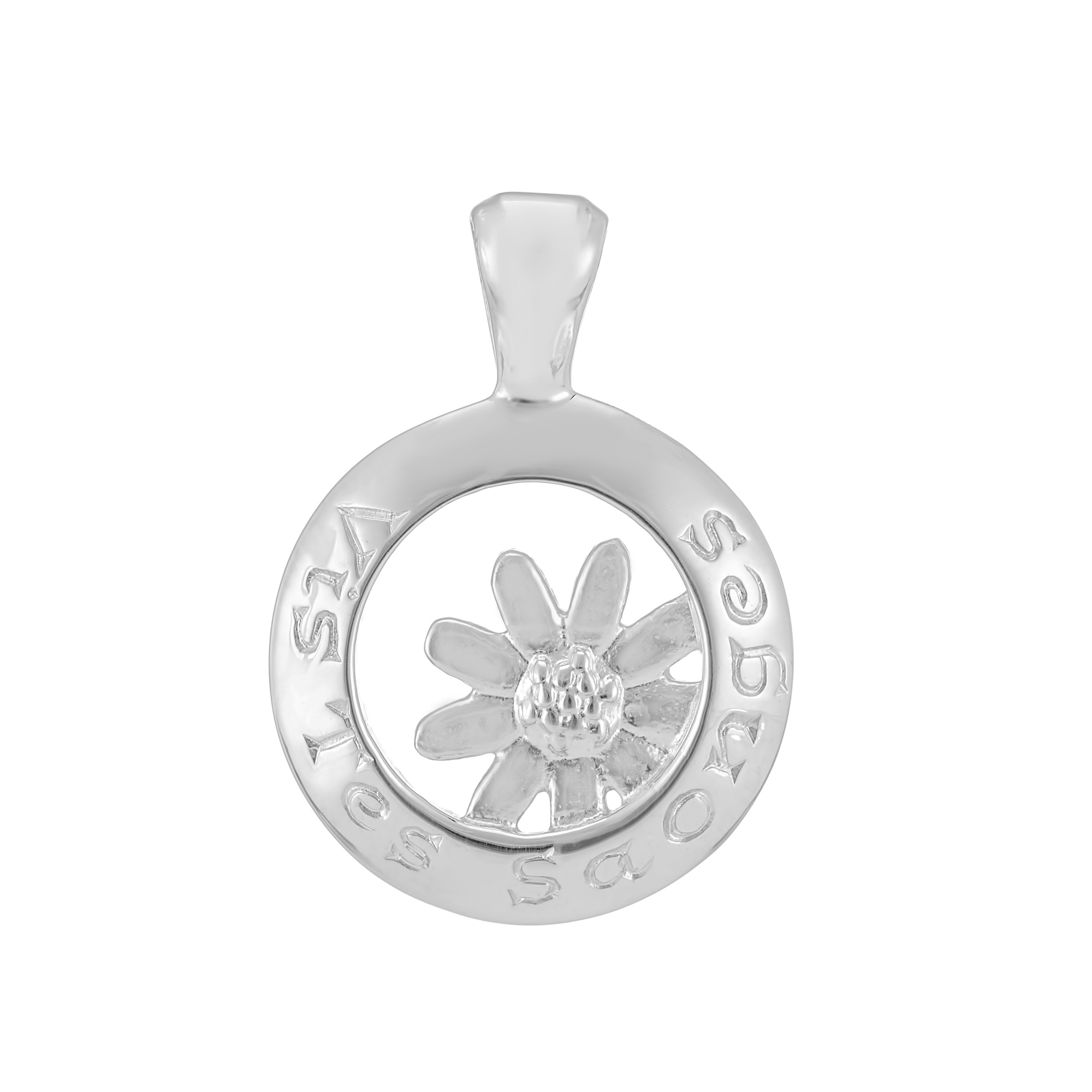 Sterling Silver Pendant  (Live your dreams)