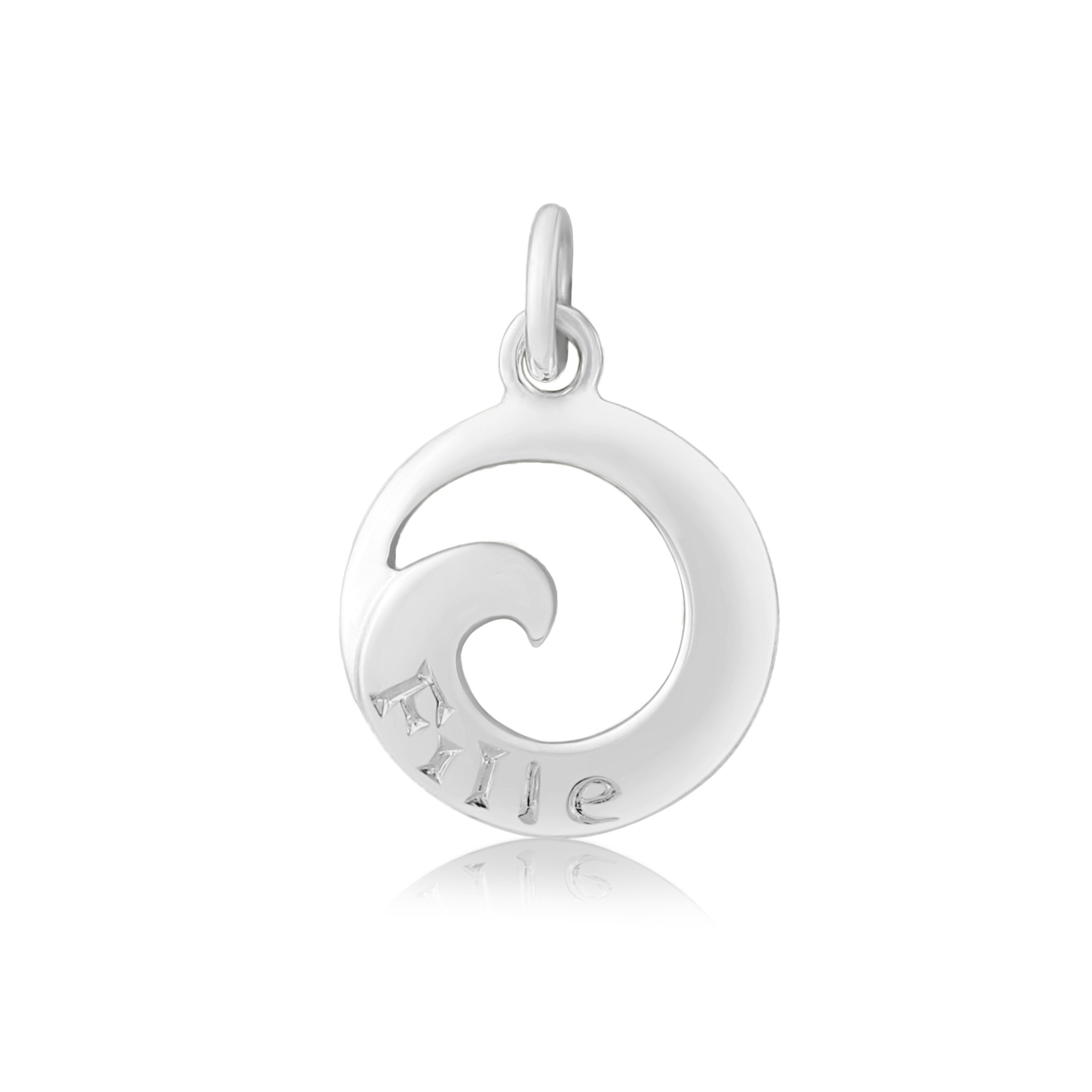 Sterling Silver Charm / Pendant  (Daughter)