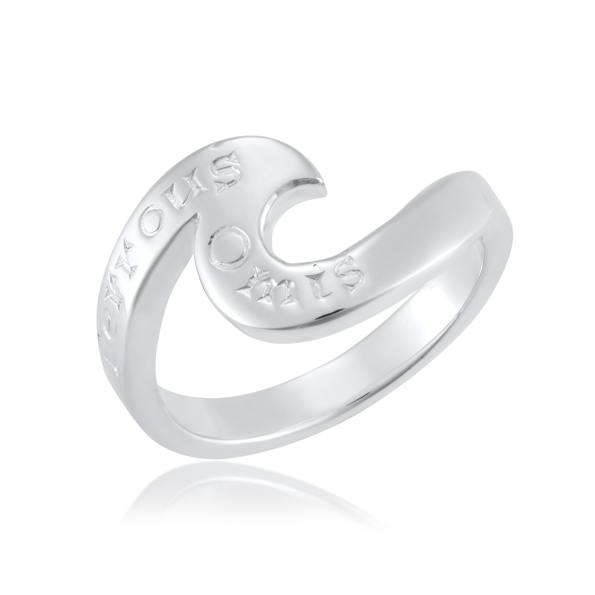 Sterling Silver Ring  (Friends Forever)