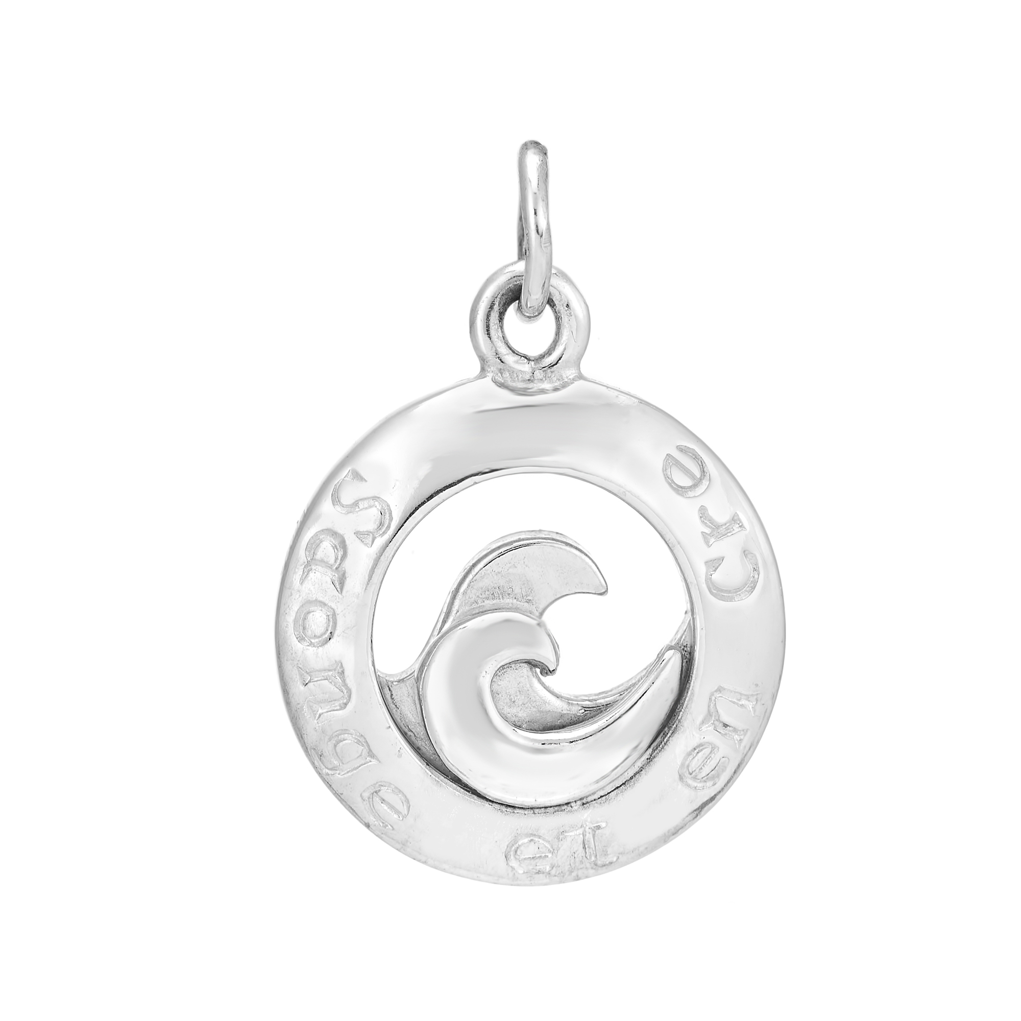 Sterling Silver Charm / Pendant  (Dream and Believe )