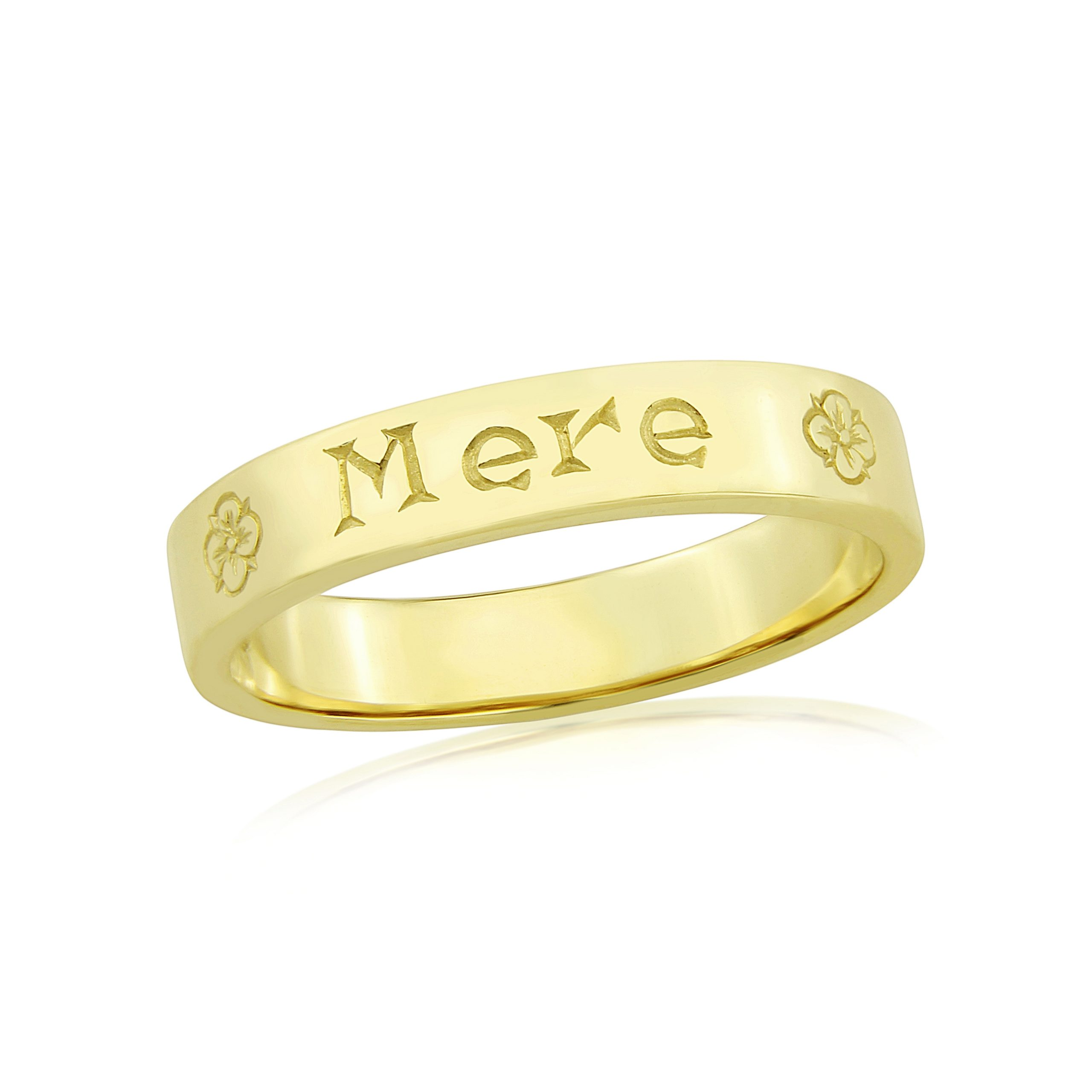 9cy Yellow Gold Ring
