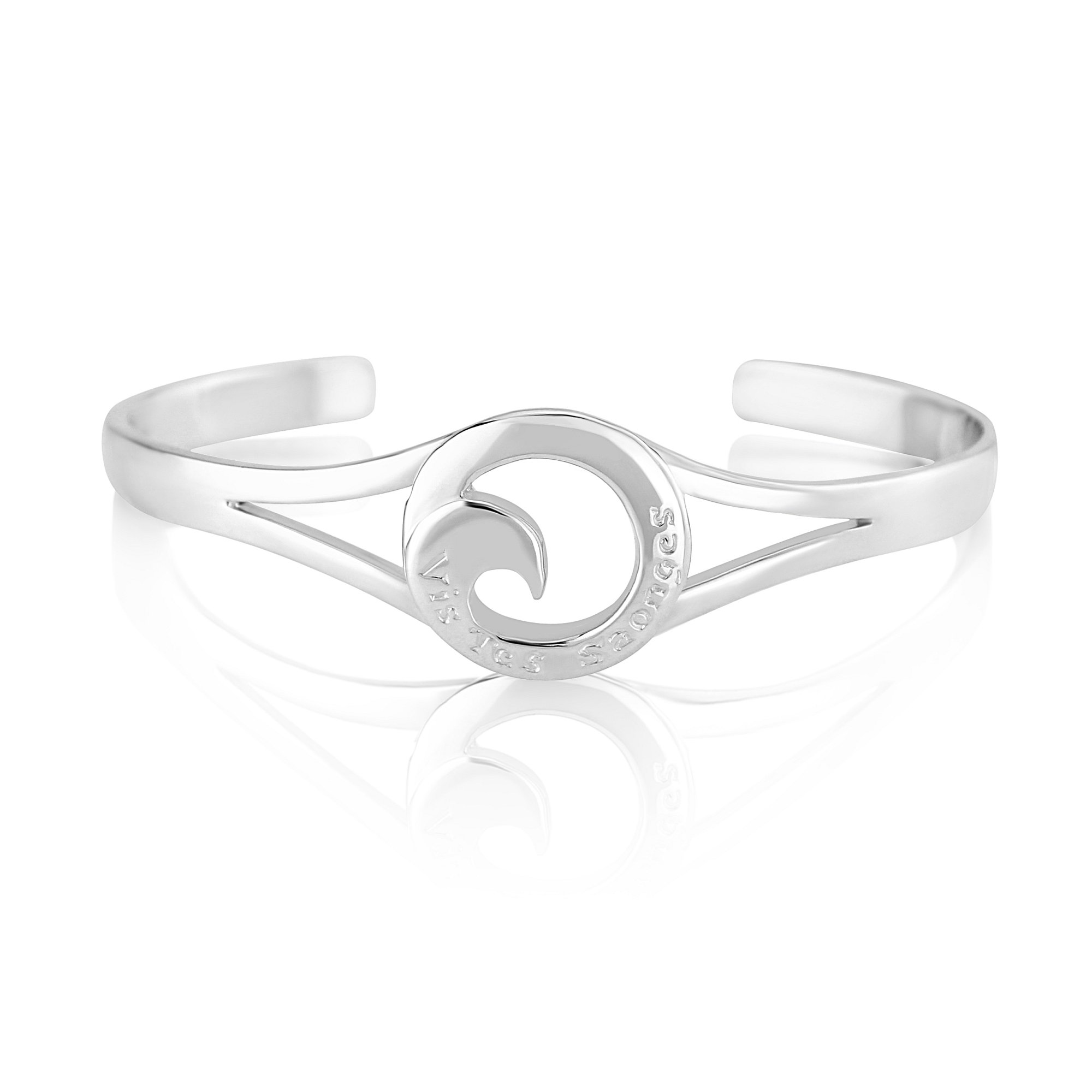 Sterling Silver Bangle  (Live your dreams)